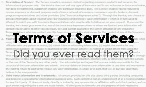 Image result for Terms of Service