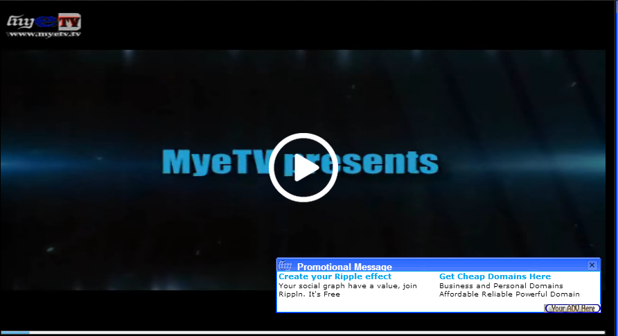 MyeTV FLASH or HTML5 Player