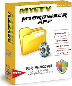 MyeTV File Manager for Windows