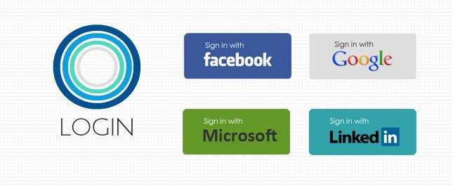 Oauth-Login-for-Linkedin,-Facebook,-Google-and-Microsoft