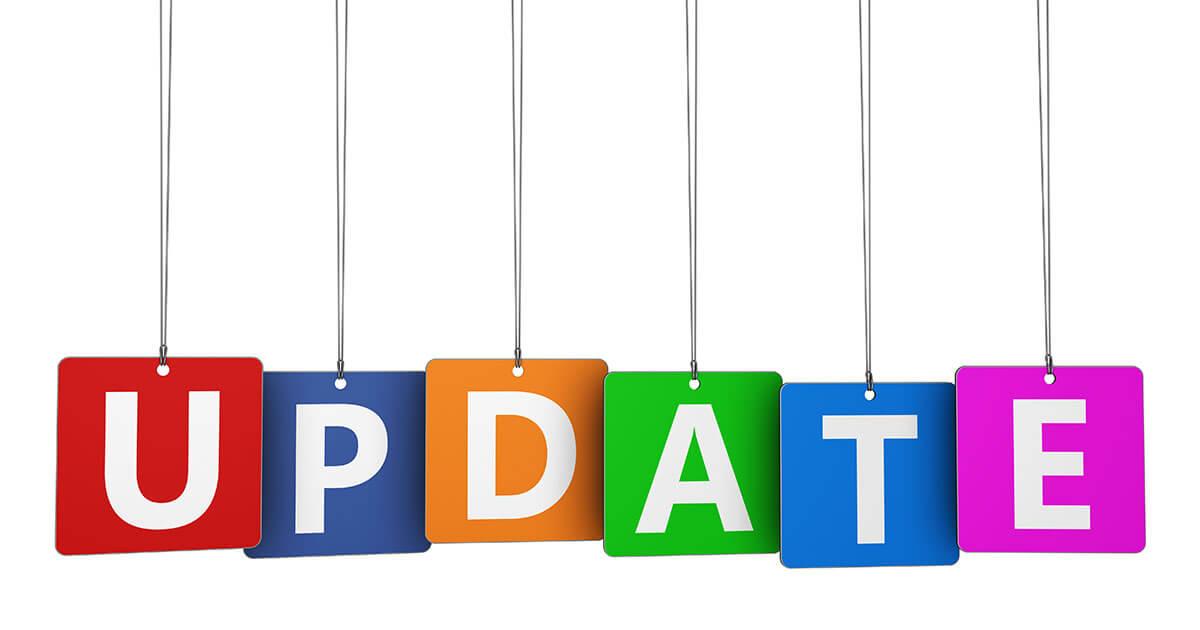 Cumulative updates April/May/June 2019